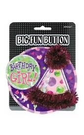 Girls Birthday Badge