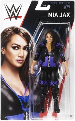 Nia Jax WWE Mattel Basic Series 79 Brand New Action Figure Toy - Mint Packaging