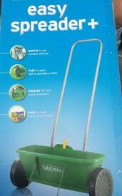 Evergreen grass spreader new & boxed