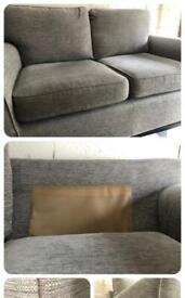 Next Sofa Set, Sofa and Love Seat RRP £1125