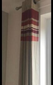 X2 pair of curtains