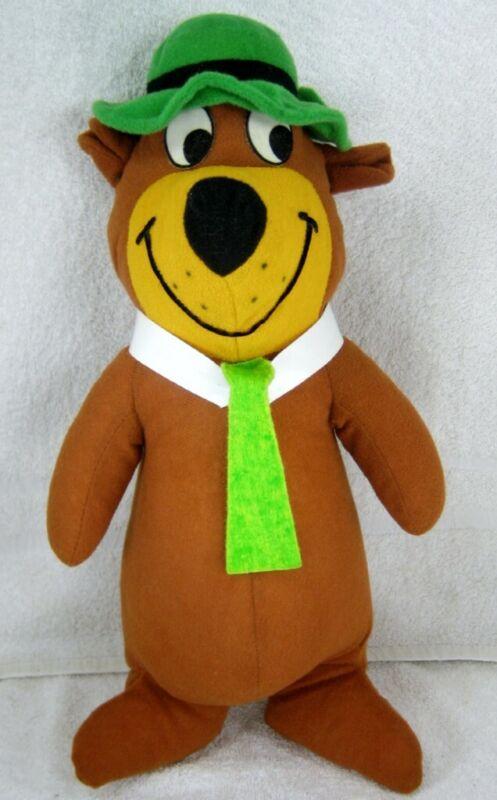 Hanna Barbera YOGI BEAR Large Stuffed Doll from 1980