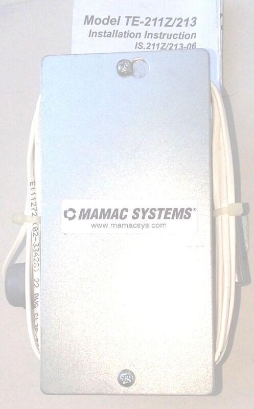 Mamac Systems TE-213-E-E-2-2-C-7 temperature transducer
