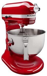 New KitchenAid KL26M1XER Professional 6 quart Bowl-Lift Stand Mixer, Empire Red
