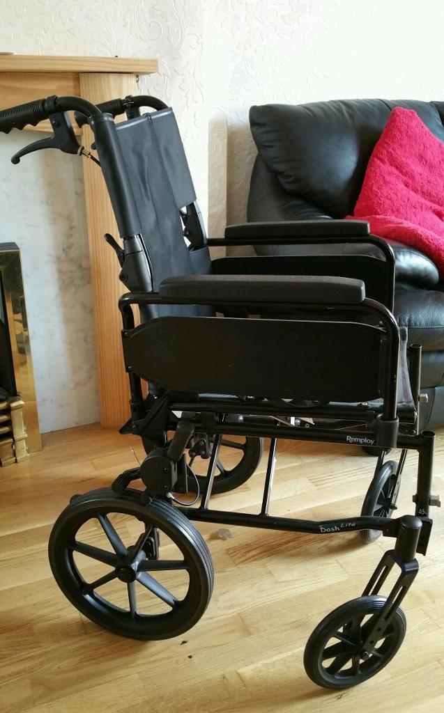 Fold Up Wheelchair In Bonnyrigg Midlothian Gumtree