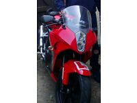 Very clean Hyosung GT 125R for sale