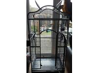 large parrot/bird cage