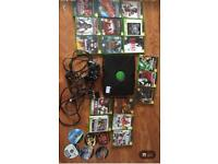 Original xbox with accessories + approx 21 games