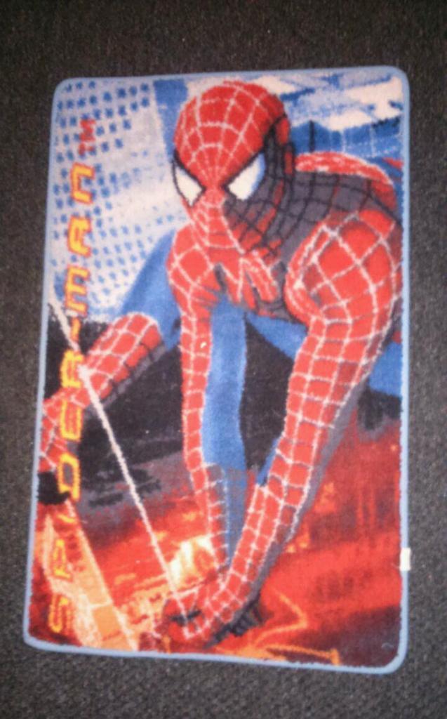 spiderman rug child s bedroom in pontypridd rhondda childrens kids boys spiderman bedroom floor rug mat
