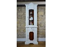 Elegant Corner Display Cabinet