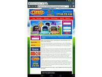 Established bouncy castle business for sale