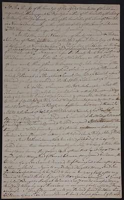 1774 Document Norwich CT Last Will Signed Jabez Huntington Revolutionary War
