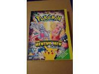 Pokemon the first movie Dvd rare!!