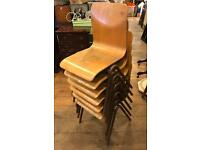 1950's/60's Children's Stacking Chairs