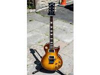 Gibson Les Paul Axcess Floyd Rose Custom Shop in Ice Tea