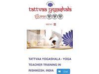 200hr Ashtanga Yoga Course deposit in India