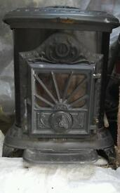 French wood stove