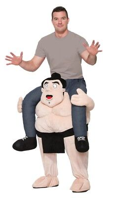 Hysterical Ride A Sumo Ridin' Hilarious Adult Halloween Costume Men Women Mascot - Hysterical Halloween