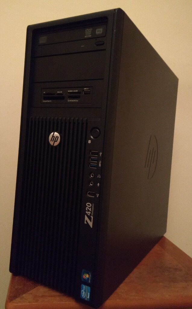 HP Z420 GAMING PC