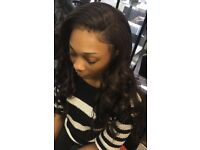 Friendly Wig maker and Weave Specialist Hairstylist Afro European Lace Frontals /360/ Closures