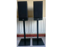 NAD 802 Speakers + Stands