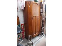 Wardrobe oak,chests and 2 bed side cabinets chair Tv Cabinet