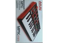 AKAI MPK mini compact keyboard and pad controller