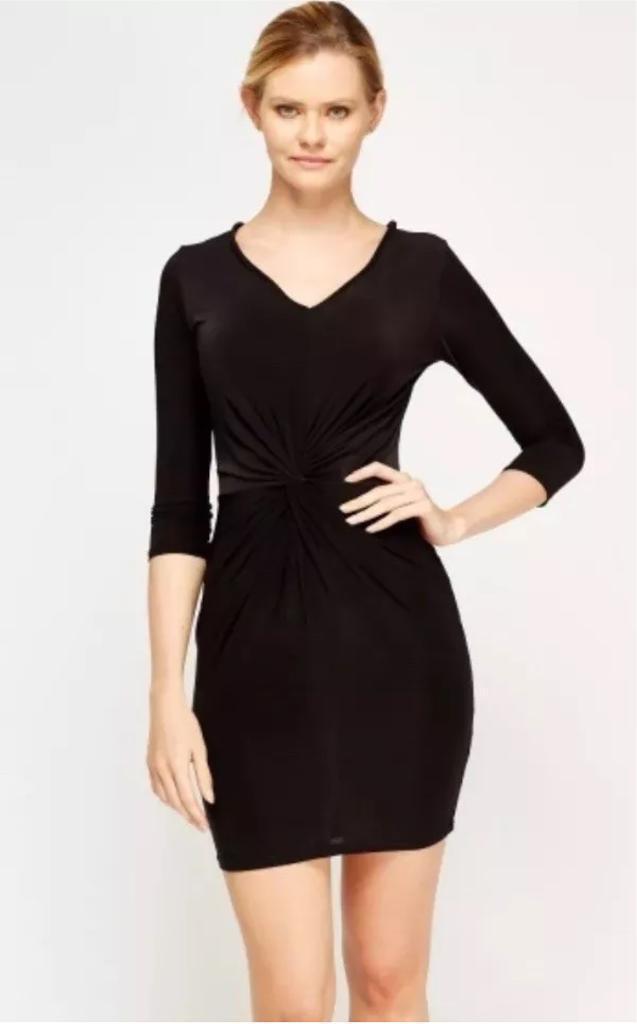 Twist Knot Bodycon Dress (UK 8)