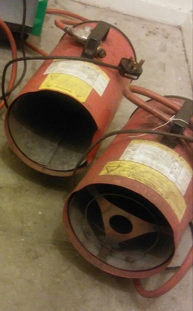 Garage heater gas heater