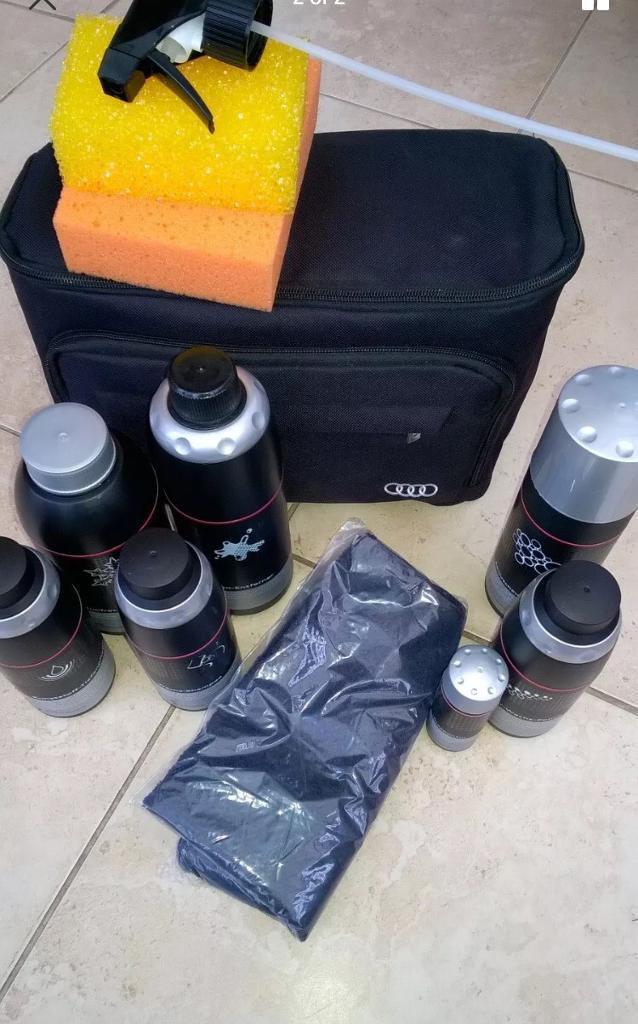 Genuine Audi Car Care Kit Cleaning Valeting In Preston - Audi car cleaning kit
