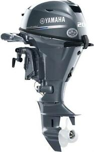 2016 Yamaha F20 Power Tilt