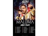 Maluma ticket 27 Sep, London, SSE Arena Wembley