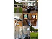 Chalet for rent in a beautiful location in woodlands holiday park New quay South Wales