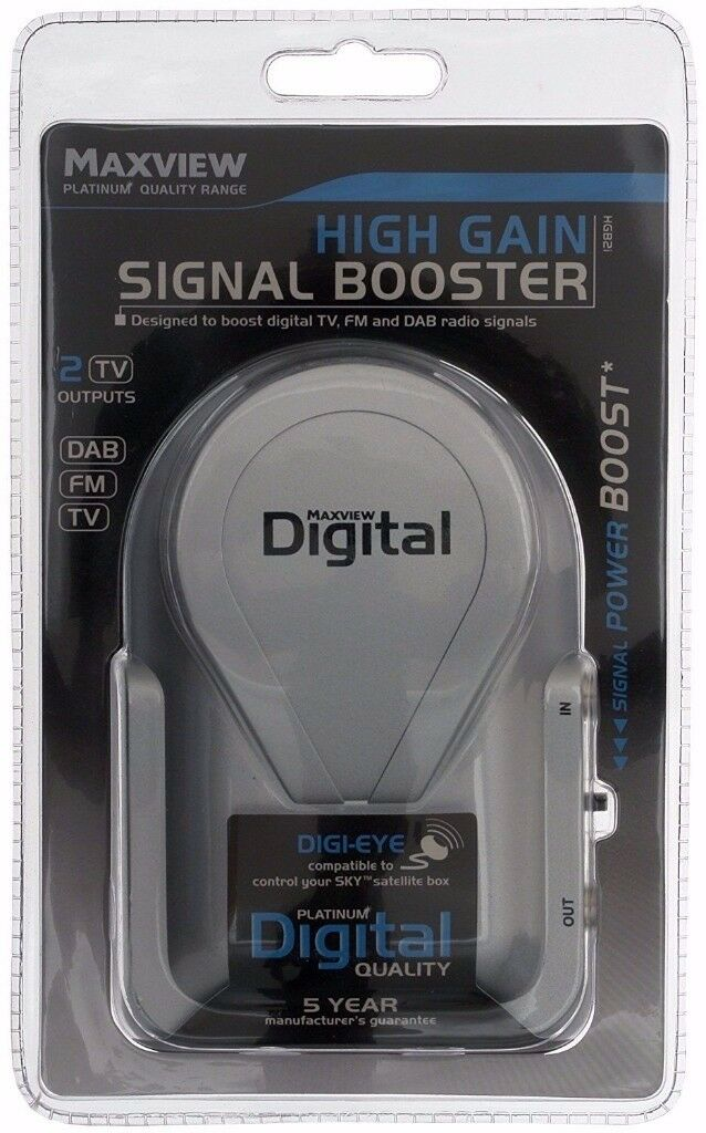 High-Gain Signal Booster