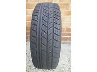 Vauxhhall zafira tyre and rim 195/65R 15 good tyre £15