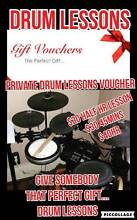 Drum lessons vouchers Hamilton Brisbane North East Preview