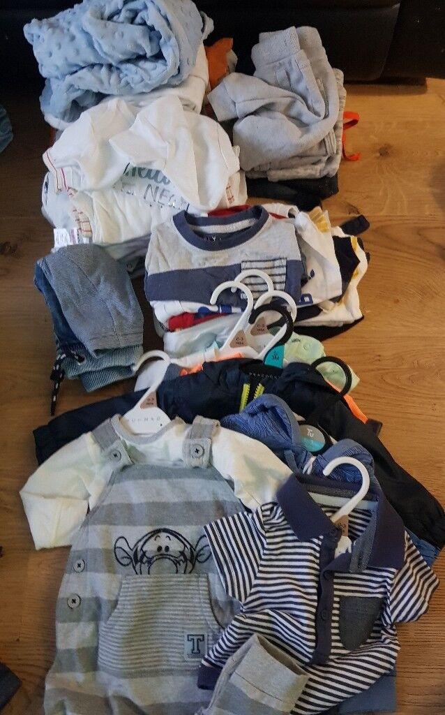 boys bundle of clothes 0/3