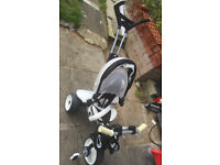 Kids Bicycle Stroller Childs Stroller Pushchair Pram Bike Tricycle