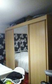 Large 3 door sliding wardrobe