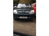 WANTED TOYOTA HILUX ANY AGE OR CONDITION