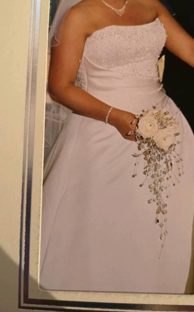 Maggie Sottero Swarovski Crystal Wedding Dress In Halesowen West