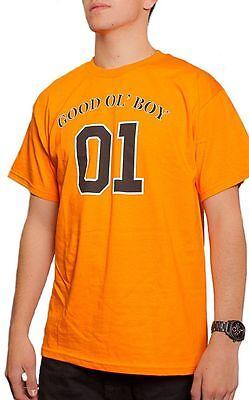 NEW Good Ol' Boy 01 Orange Dukes of Hazzard T-shirt S-3XL TV Movies Retro (Good Ol Boy T-shirt)