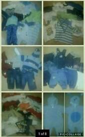3-6 baby boys clothes bundle