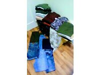 NEW LOOK H&M EX STUDENT BUNDLE JEANS JUMPERS T-SHIRTS TROUSERS DRESSES BLOUSES ETC SIZE 10 12
