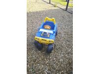 Childs little tikes jeep