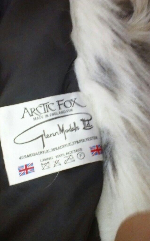 LADIES ARTIC FOX COAT