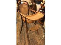 Thonet Bentwood High Chair