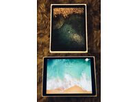 Apple iPad Pro 2nd Generation 256GB, Wi-Fi + Cellular (Unlocked), 12.9Inch + Key Board + Case