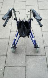 Disabled 3 wheel walking aid for sale