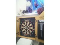 philtaylor dartboard and frame